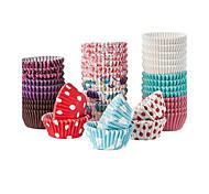 Favores y regalos de la fiesta Envoltorios para Cupcake 100 % Pulpa de Madera Cumpleaños Tema Clásico Cilindro Sin personalizar100 %