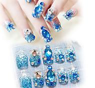 Nail Art Советы накладные ногти 1set