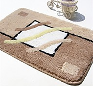 "Casual Style 1PC Polypropylene  Bath Rug 15"" by 23"""