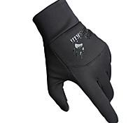 Guanti da ciclismo / Guanti da sci / Guanti touch Invernali Tutti Tenere al caldo Sci Nero Tela Formato libero