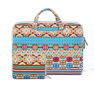 Bohemian Canvas Fabric Laptop Handbag For Macbook Air 11.6/13.3,Macbook 12,Macbook Pro 13.3/15.4