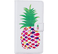 PU Leather Material Pineapple Pattern Phone Case for Huawei P9 Lite/P9/P8 Lite