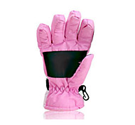 Winter Gloves Unisex Keep Warm Ski & Snowboard / Snowboarding Pink / Black Canvas Free Size-Others