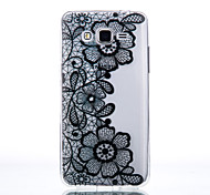 TPU Material Three Chrysanthemum Pattern Cellphone Case for Samsung Galaxy J7/J510/J5/J310/G530/G360