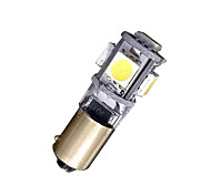2 BAX9S H6W 5 SMD LED ERROR FREE Side Light Bulbs Lamp