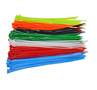 100PCS/ Bag Fasten Wire Self-Locking Cable 4x200mm Nylon Cable Zip Ties Wrap