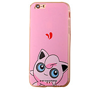 Pixie Pink Cartoon Pattern PC Material Phone Case for iPhone 5 5S 5E 6 6S 6 Plus 6S Plus
