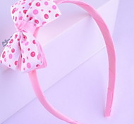 Korean Flower Girl's Fabric Bow Headbands