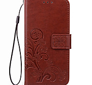 KARZEA™ Clover PatternTPU and PU Leather Case with Stand for OPPO A31/A31T/A33/A53 (Assorted Colors)