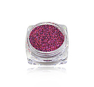 1g Shining Sugar Glitter Dust Powder Nail Art Decoration Acrylic Nail Glitter Powder #533-542
