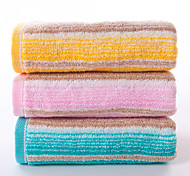 1 PC Full Cotton Thickening Hand Towel 26by 13 inch Stripe Pattern
