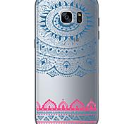 Retro 2 TPU Soft Back Cover Case for  Samsung Galaxy S6  S7 edge Plus