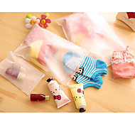 Receive bag finishing bag sealed transparent underwear suit clothes in the bag to travel home