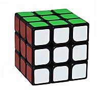 Yongjun® Cubi 3*3*3 Velocità / Livello professionale Smooth Cube Velocità Nero Adesivo Smooth Guanlong Anti-pop / della molla regolabile