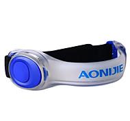 Arm Belt Safety Signal Lamp Reflective Strips LEDs / Climbing / Cycling/Bike / Running Unisex Red / Green / Blue TPU