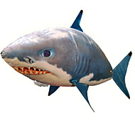 Radio Control Inflable Shark Cool / Creativo Juguetes Novedosos Azul Nailon