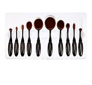 Lightinthebox® 10 Set di pennelli Capelli sintetici Professionale / Coppa larga Plastic Viso / Occhi / Labbro Altro