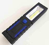 la luz del trabajo llevado linterna dos tramos tres pilas AAA (no incluidas) de iluminación impermeable al aire libre