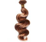 100g / pc человеческие волосы тела 10-18inch блондинка каштановые цвета мороза человеческие волосы ткут