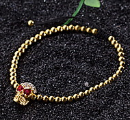 Bracelet Chain Bracelet Alloy Circle Fashion Daily Jewelry Gift Gold1pc