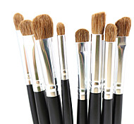 Premium 8pcs Eye Makeup Brushes Set Eyes Shadow Contour Blending Makeup Tools Kit