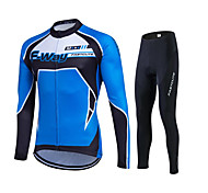 Spring Autumn Long Sleeve Cycling Jersey Sets Breathable Gel Padded Bicycle Sportswear Cycling Clothings