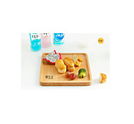 Korean Imports Of Wooden Pallets Beech Coffee Tray Bread Tray Custom 34 * 23 * 2Cm