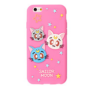 3D Cute Cat Silicone Case for iPhone 6s 6 Plus SE 5s 5