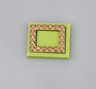 Квадратная форма силиконовая форма для украшения фонтана украшения инструменты ювелирные изделия формы fimo глина плесень цвет случайный