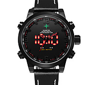 Genuine Leather Watch Men Quartz Digital Military Casual Sports Watch Luxury Brand Relogio Outdoor Sport Wristwatch Male