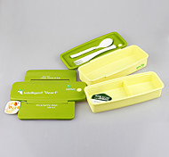 Yooyee Lunch Set Plastic Container with Removable Divider