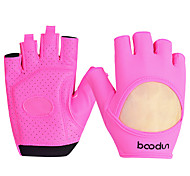 Women's Half Finger Gloves Breathable Yoga Fitness Equipment Dumbbell Riding Cyling Sports Gloves 1 Pair