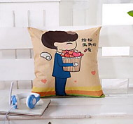 Couple Pillow Cover Sofa Cushions Containing Core Automotive Lumbar Cushion
