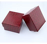 Schmuckbehälter Stoff 1 Stück Rot
