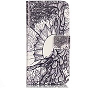 General Purse / Flip To Support The Tree Of Life PU Leather Flip Mobile Phone Shell for iPhone 7 / 7 Plus