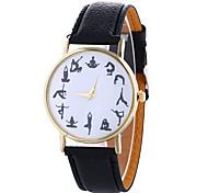 Women's Fashion Analog Stripe Ladies' Camouflage Christmas Display Strap Bohemia Quartz Wrist Watch