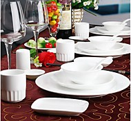 High Level Hotel Ceramics Daily Use Ceramic Table Set Tableware