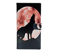 Для Кейс для Motorola Бумажник для карт / Флип Кейс для Чехол Кейс для С собакой Твердый Искусственная кожа Motorola Мото Z