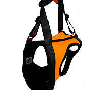 Dog Harness Waterproof / Reflective / Adjustable/Retractable Solid Red / Green / Orange Rubber