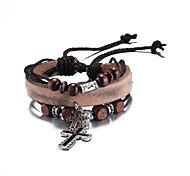 Bracelet Leather Bracelet Alloy Christmas Gifts