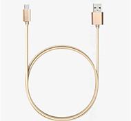 USB 2.0 Trenzado Nailon Cables 100cm