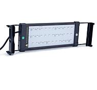 11 pouces (30cm) conduit aquarium ac lumière 100-240v rgb télécommande support extensible conduit lampe de poisson prise eu