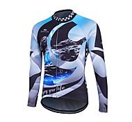 New Arrival Fleece Cycling Jersey Long Sleeve Cycling Wear Winter Thermal Fleece Cycling Clothing Bicycle Jacket