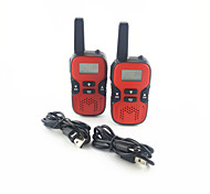 Kids Walkie Talkies Handheld 2-way Radio 22 CH 462.550- 467.7250MHz 0.5W Portable UHF Intercom for Hiking Camping