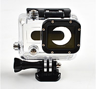 Accessories For GoPro,Smooth Frame Protective Case Waterproof Housing Waterproof Convenient Anti-Shock Dust Proof, For-Action Camera,