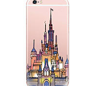 Pattern Fashion Cartoon Castle PC Hard Case Back Cover For Apple iPhone 6s 6 Plus SE/5s/5