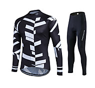Spring Autumn Long Sleeve Cycling Jersey Sets Breathable Gel Padded Bicycle Sportswear Ride Bike Cycling Clothings