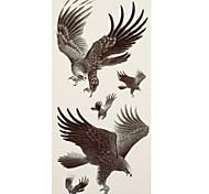 1 Tatuajes Adhesivos Series de Animal eagle flash de tatuaje Los tatuajes temporales
