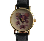 Casual Style Elephant World Girl Watch
