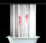 Polyester  Halloween Thicken Waterproof Shower Curtains Bathroom Curtains